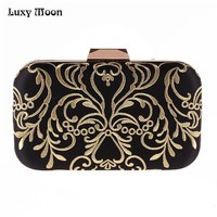 a886d870d LUXY MOON Evening Bag Women S Wallet New Diamond Embroidery Flower Clutch  Purse Mini Small Hand. LUXY LUA Noite Saco Carteira das Mulheres ...