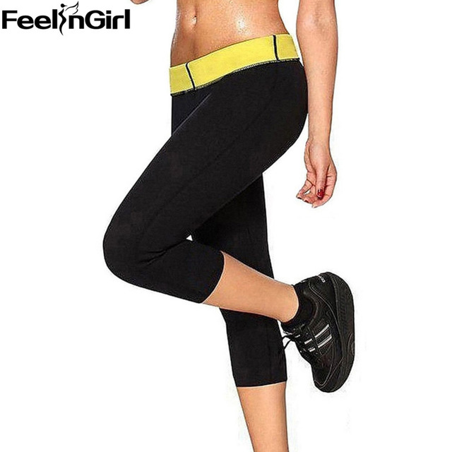 8984418b8 FeelinGirl Black Neoprene Stretch Pants Women Slimming Control Panties -E  Workeout Shapers Women Sweat Shapewear