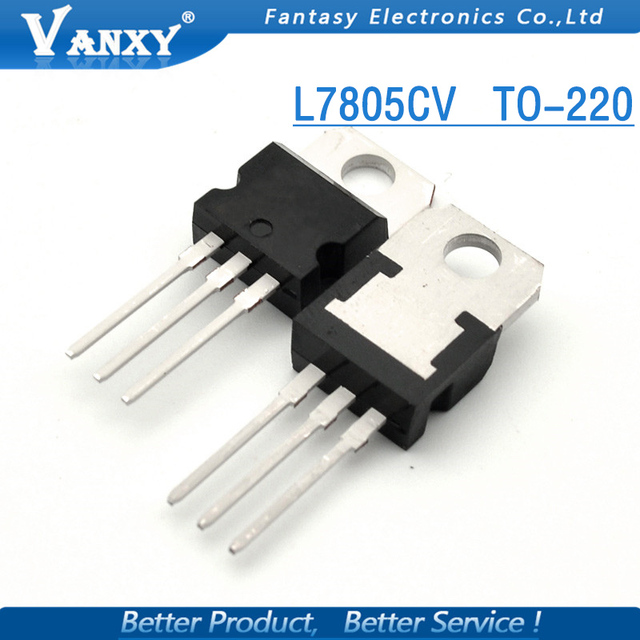 10PCS L7805CV TO220 L7805 TO-220 7805 LM7805 MC7805 new and  original IC free shipping