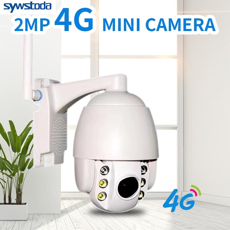 2MP 3G 4G Draadloze PTZ IP Camera Wifi 1080P Outdoor Waterdichte Mini Cam P2P 5X Optische Zoom twee Weg Audio CCTV Security Camera-in Beveiligingscamera´s van Veiligheid en bescherming op AliExpress - 11.11_Dubbel 11Vrijgezellendag 1