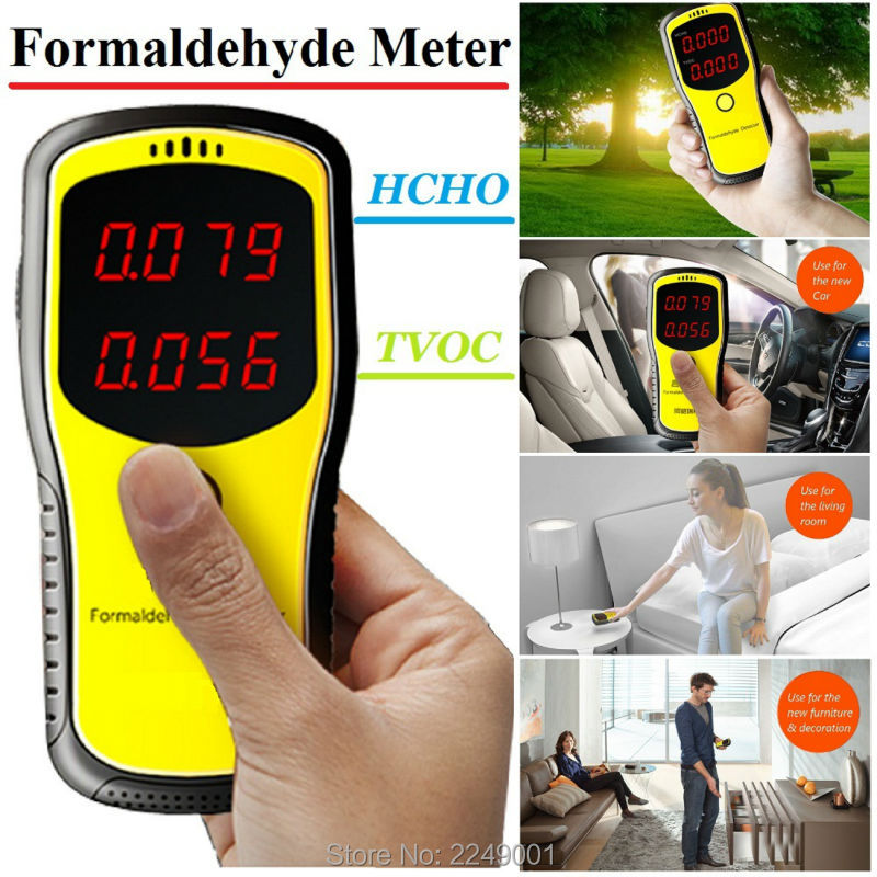 WP6900 Digital Formaldehyde Detector Meter HCHO & TVOC Meter Air Analyzers Unit mg/m3