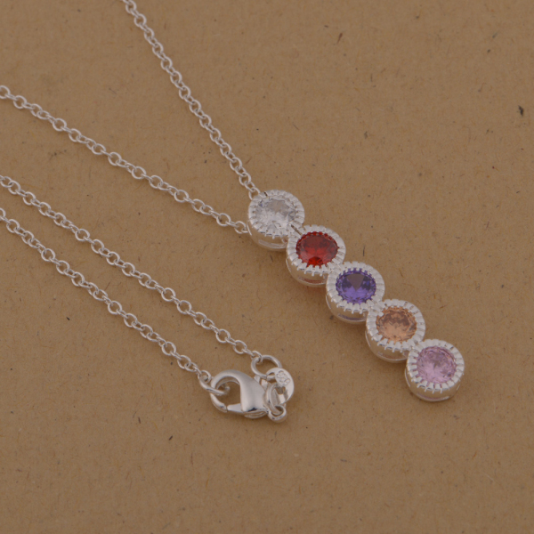 00b7c038b6ac Collar pendiente plateado plata de la manera con el cristal austríaco  geometría Niza joyería del partido fábrica de precio barato al por mayor