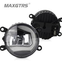 2x Универсальный 3,5 дюймов Автомобильный передний бампер DRL COB светодиодный противотуманный светильник s дневной ходовой светильник Противотуманные фары для Suzuki Focus Lens