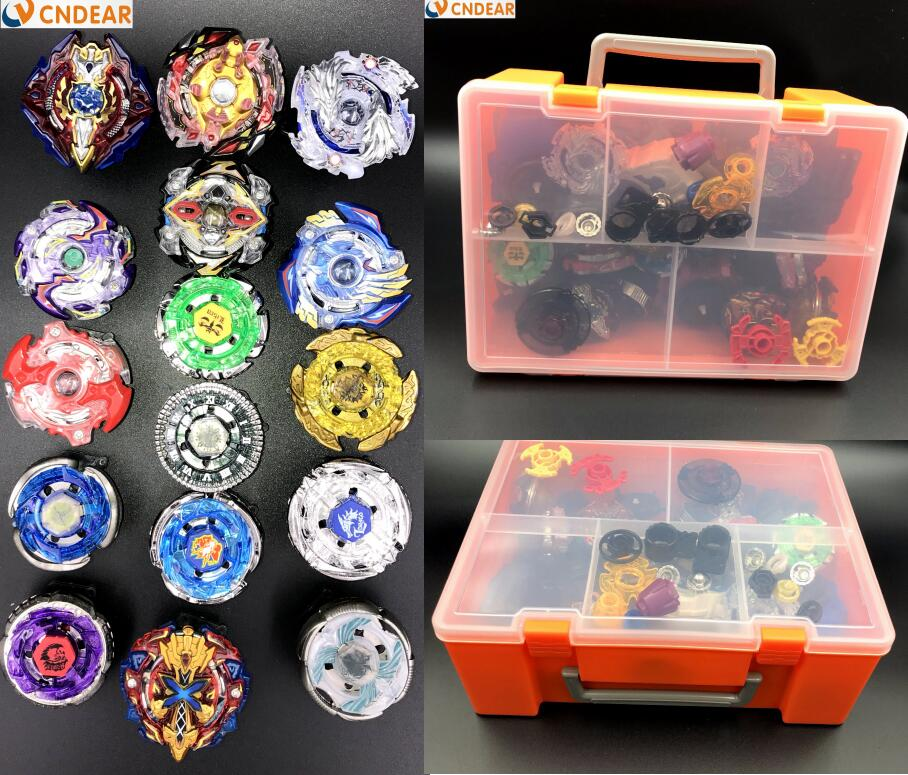 beyblade burst with launcher handle storage box  set B48 B66 B41 B59 B36 B37 B35 B34 B92 B86 children toy фонарик beyblade бейблейд morph lite цвет синий