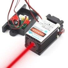 Oxlasers 650nm אדום לייזר מודול 150mW 200mW רחב קרן עם קירור מאוורר 12V DC מתאם משלוח חינם