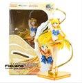 20 cm Anime Figuarts Zero Sailor Moon Sailor Venus Minako Aino 20th Anniversary PVC Action Figure Coleção Modelo Brinquedos