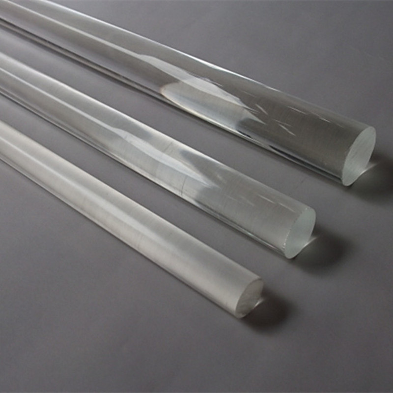 (40pcs/lot) Diameter 15x1000mm Acrylic Round Clear Stick Business Hotel Store Decoration PMMA Rod