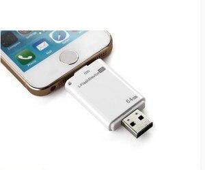Image 3 - For Lightning flash drive 8gb 16gb 32gb Usb Pen Drive 6 Language Otg Usb Flash Drive For iPhone 5/5s/6/6s Plus/ipad memory drive