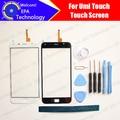 UMI Touch/Touch X Tela de Toque Digitador Garantia 100% Original Painel Digitador Da Tela de Toque Para O Toque de Vidro + ferramentas + adesivo
