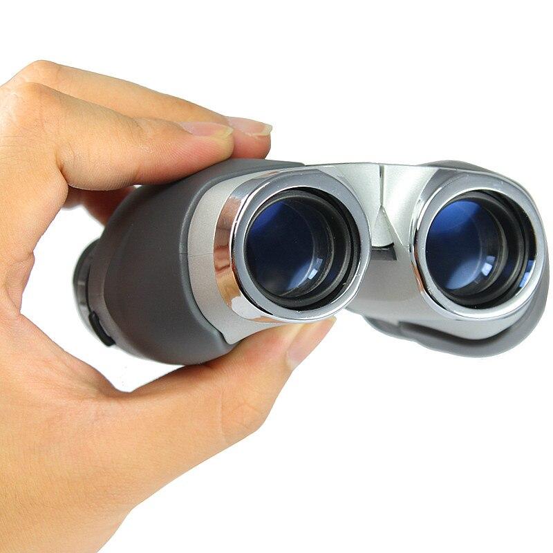 NIKULA 10x22 Binóculos de Alta Potência De Baixo Nível de Luz Noite Ao Ar Livre Visão Teleskop Luneta Portátil Pocket Mini Telescópio
