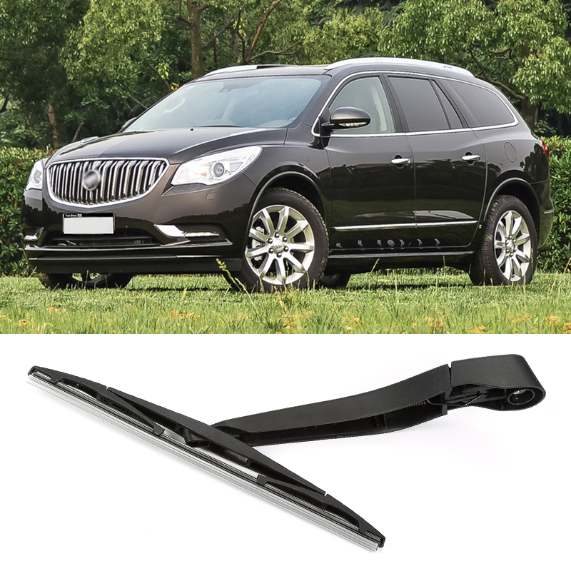 Rain Wiper Fit Buick Enclave SUV 2010+ Rear Windshield Window Wiper Arm + Blade Set ...