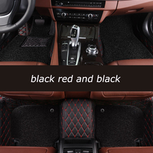 HeXinYan Custom Car Floor Mats for Chrysler 300c 300s Sebring PT Cruiser Grand Voyager Automobiles accessories car styling
