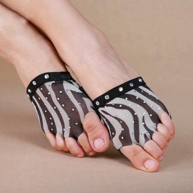 b610afe3d Cheap Dancewear Women Ballet Flats Belly Dance Training Shoes Zebra ...