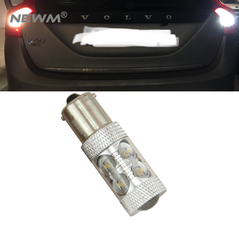1x 1156 P21W 50W High Power Canbus No Error Car LED <font><b>Rear</b></font> Reversing Tail Bulb For <font><b>volvo</b></font> xc90 xc60 v70 <font><b>s80</b></font> s40 v60 c30 v50 image
