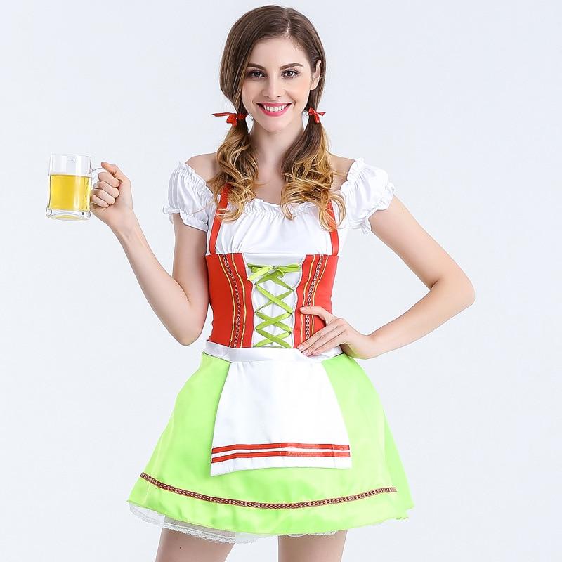 ③Envío Gratis nuevo adultos las señoras Oktoberfest bávaro wench ...