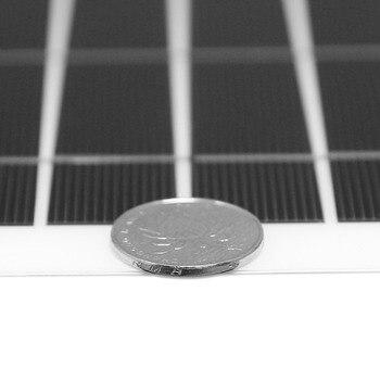 DOKIO Brand Solar Battery 50W Flexible Solar Panel 50W 12V 24v Controller +10A Solar System Kits for Fishing Boat Camping/car 4