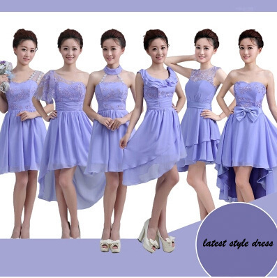 Short Design Bridesmaid Dresses The Latest Designer Dress For Wedding After Before Long Sister In From Weddings Events On