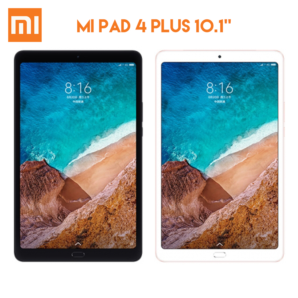 Original Xiaomi MI Pad 4 Plus Tablet PC Snapdragon 660 4GB RAM 64GB ROM MIUI 9.0