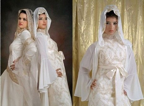 K1451 Couture Wedding Dressmuslim Bridal Gownswedding Dressesmuslim Gown