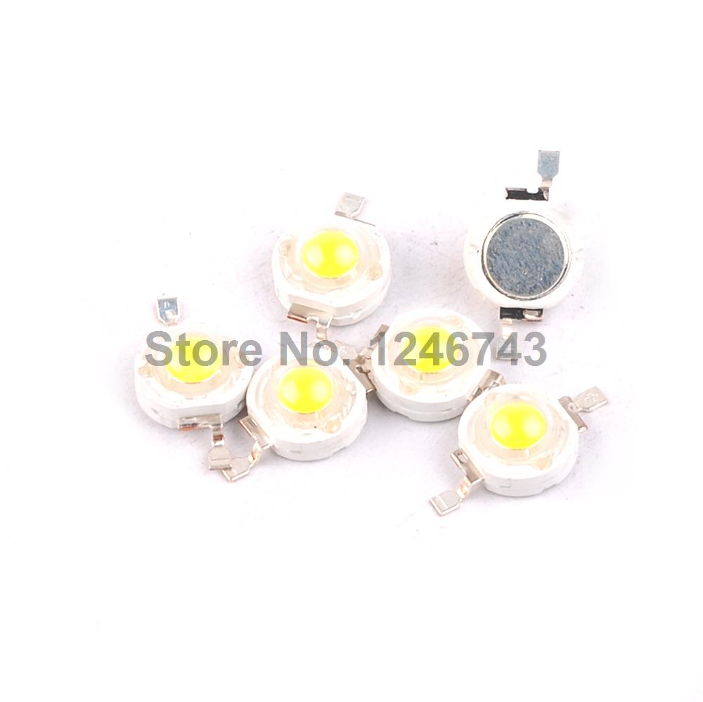 20PCS High Power 1W LED Chips Beads Bulb Diode Lamp Warm White For LED Spotlight
