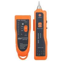 Gorąca sprzedaż RJ11 RJ45 Cat5 Cat6 wykrywacz kabli telefonicznych Tracer Toner Ethernet tester kabla sieciowego lan wykrywacz linii Finder