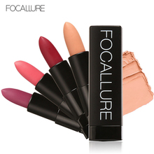 hot deal buy 12 colors matte velvet lipstick brand focallure lips tint makeup waterproof long lasting lipstick batom lips cosmetics maquiagem