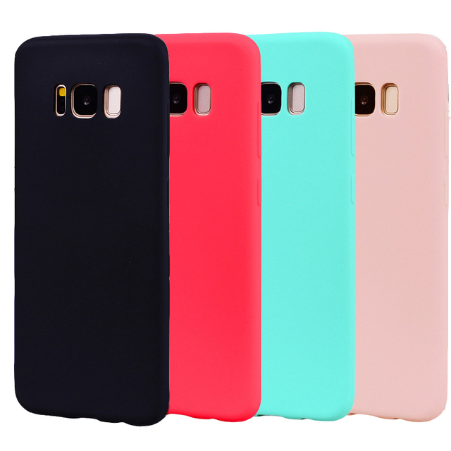 Silicone Case For Samsung Galaxy A6 Plus 2018 A3 A5 A7 2016 J3 J5 J7