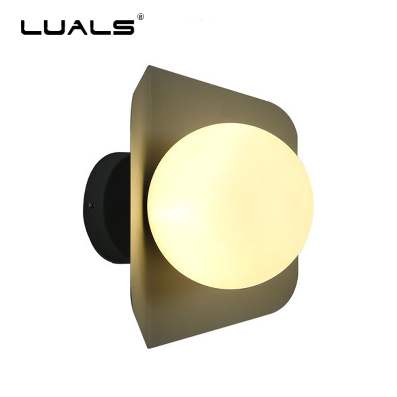 цена на Fashion Modern Wall Light Art Multicolor Wall Lamp Macaron Glass Wall Lights Nordic Deco Wall Lamp Indoor Home Deco LED Lighting