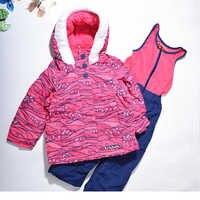 Ispessimento di inverno di ispessimento a prova di freddo antivento twinset bambino di qualità antivento set