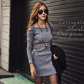 2016 Autumn Winter Warm Women Cotton Winter Dress Ladie's Evening Clothes Party Long Sleeve Casual Dress Women Clothing Vestidos