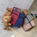 Brand original design Bear Striped saddle bag women Card Printing shoulder High quality Women Girl Messenger Bags