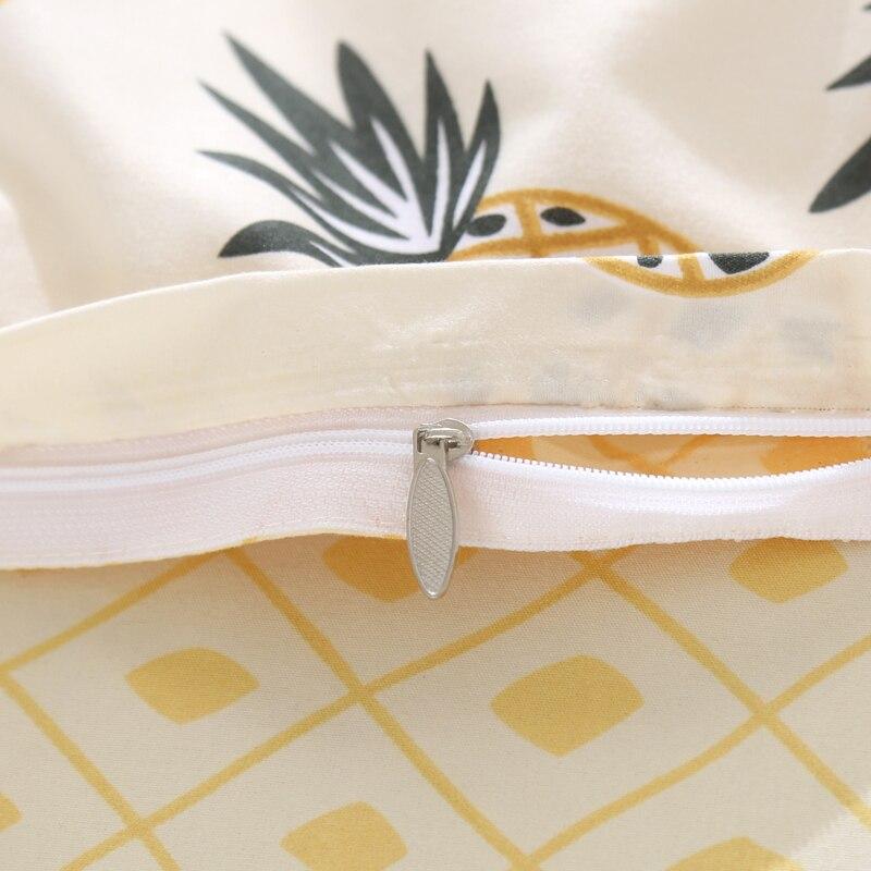 Hochwertig Obst Ananas Bettwäsche Set Bettbezug Königin Voll King Size Kinder .