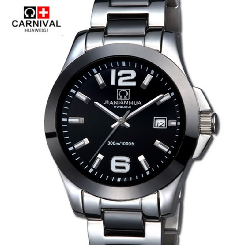 Carnival waterproof military diving sports ceramic mechanical watch automatic fashion casual men luxury brand military watch relogios masculino sollen calendar mechanical watch luxury men black waterproof fashion casual military brand sports watches