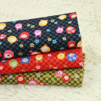 half yard thicken cotton fabric soft breeze gilt cat print, handmade DIY mouth gold package bag 100% cotton cloth B191
