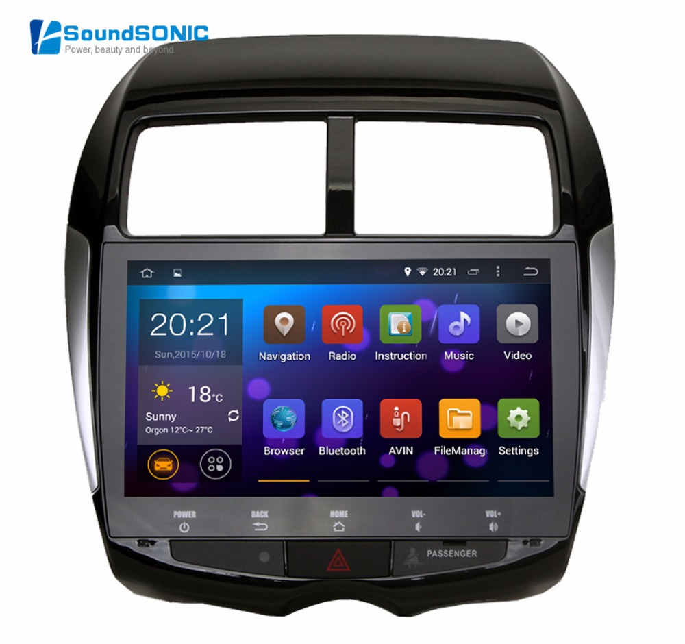 android 4 4 4 for mitsubishi asx for peugeot 4008 for citroen c4 car radio stereo gps navigation. Black Bedroom Furniture Sets. Home Design Ideas