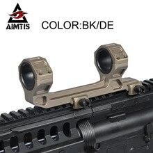 Aimtis GE Охота прицел крепление оптического 1 «/30 мм Диаметр кольца AR15 M4 M16 с пузырьковый уровень подходит Уивер Пикатинни