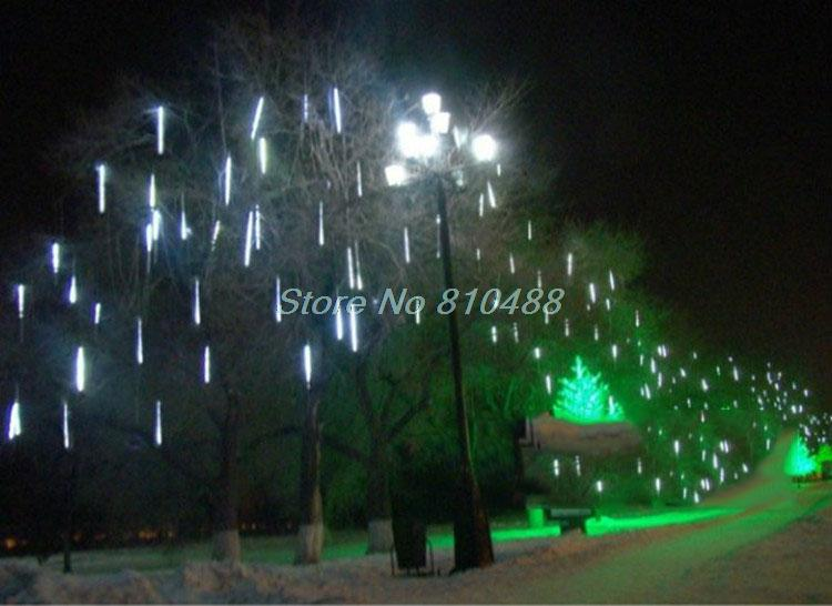 Meteor Shower Falling Star Rain Drop Icicle Snow Fall Led