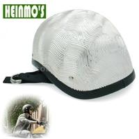 Universal for Harley Motorcycle Retro Fiberglass Silver Helmet Motorcross Capacete Half Helmet Black Green Gold Bronze White
