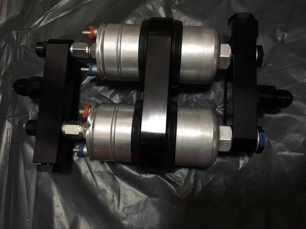 新しいキットデュアル 0580254044 300LPH 燃料ポンプ燃料エントリバー AN 入口マニホールド出口燃料マニホールドキット  グループ上の 自動車 &バイク からの 燃料ポンプ の中 1