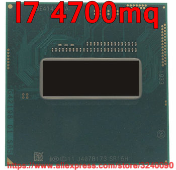 Original lntel Core I7 4700mq SR15H CPU (6M Cache/2,4 GHz-3,4 GHz/Quad- core) i7-4700mq Laptop prozessor kostenloser versand