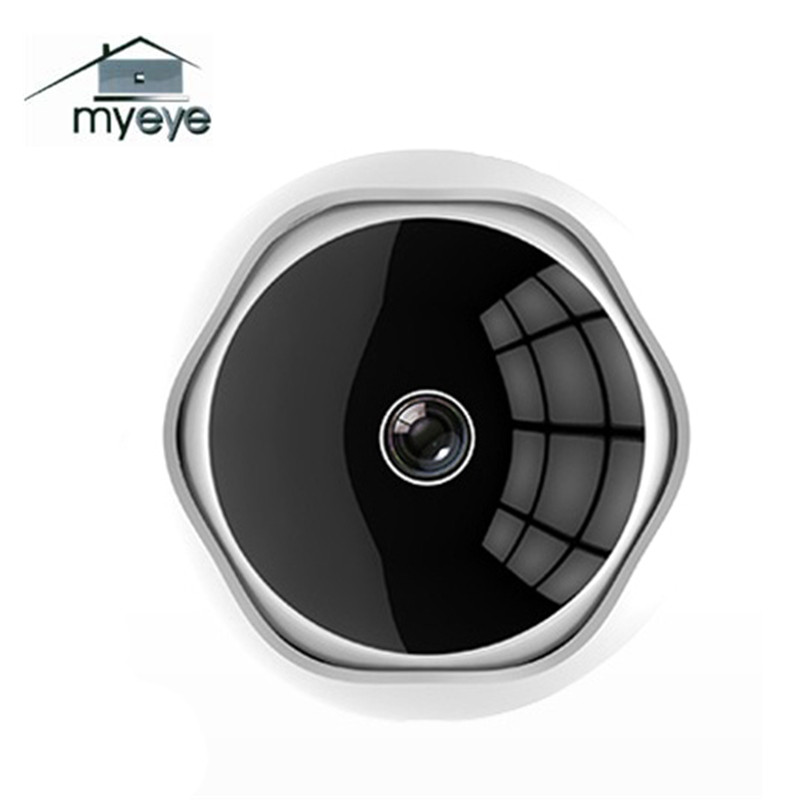 Myeye 1080P Motion Detection Panoramic VR WIFI IP Camera 360 Degree Smart P2P Network CCTV Remote Security Camera Home Safety myeye 2017 new panoramic vr wifi ip camera hd 720p 960p with fisheye lens 180 360 degree security camera home safety ip camera