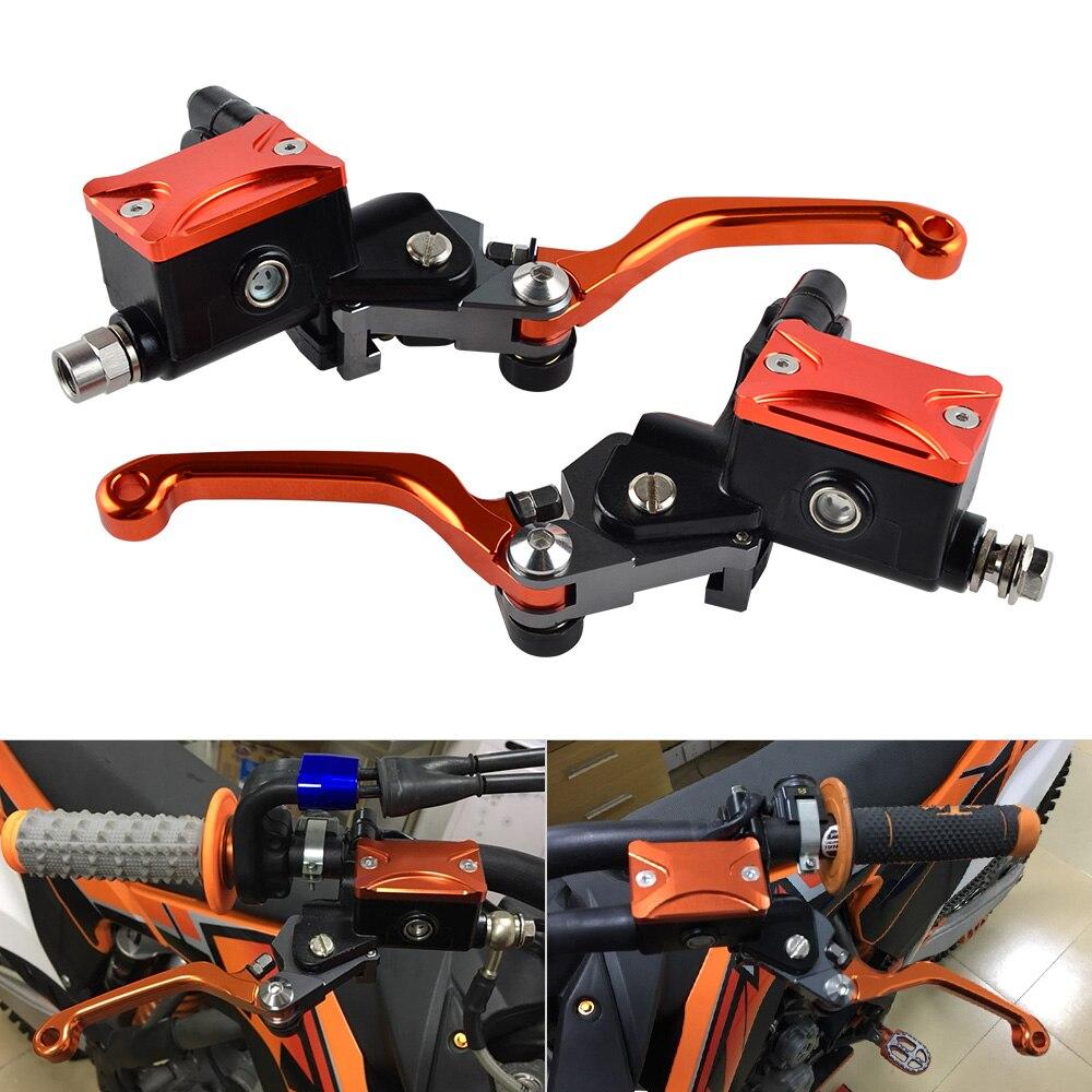 Conjunto Da Alavanca de Embreagem do Freio Hidráulico da motocicleta Para KTM 65 85 125 200 250 300 350 450 500 525 530 XC SX SMR EXC XCF EXCF XCW