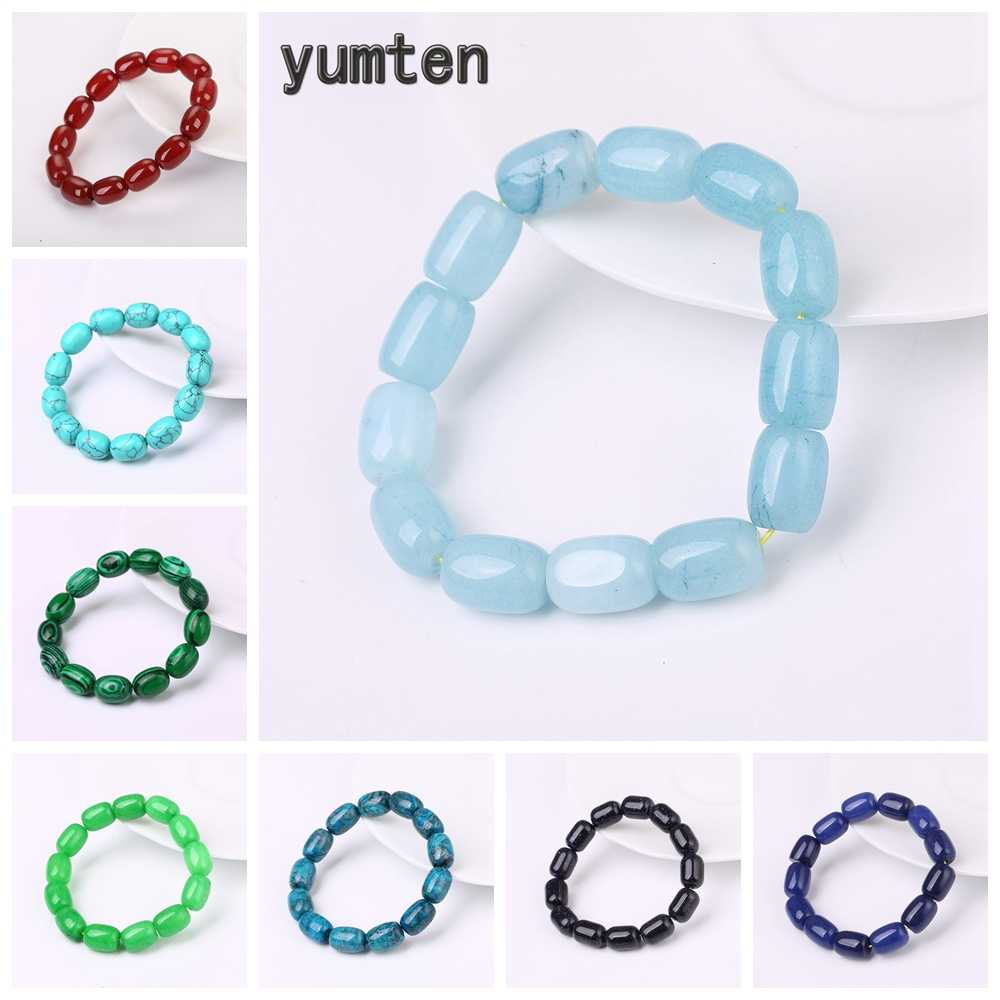Yumten Beaded Bracelets Luck Gems Beads Natural Stone Fashion Accessories Power Crystal Women Statement Jewelry Chakra Reiki