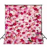 150*200 cm rosa bianca fiori rossi del bambino di compleanno fondali background fotografia su ordine fondali foto in studio puntelli