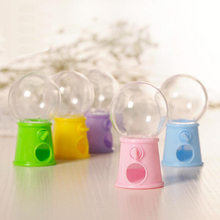 12Pcs/set Creative Cute Light Bulb Candy Machine Mini Box Baby Shower Birthday Party Favors Gifts Boxes