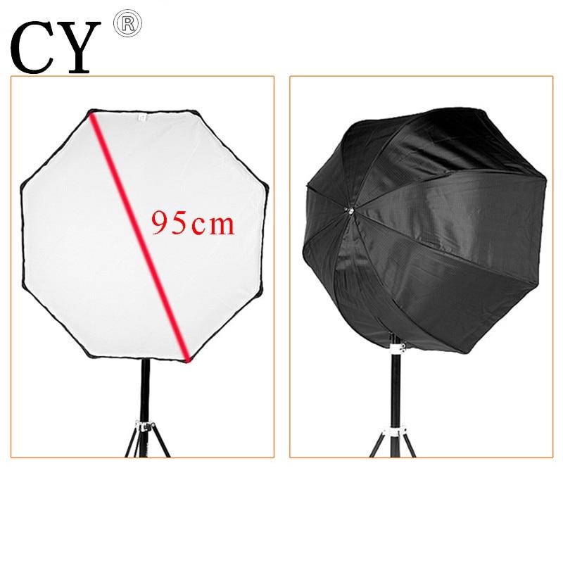 Photo Studio 95cm Octagon Umbrella Softbox Diffuser Reflector for Speedlite Flash Soft Box Photography Accesorios Lightbox