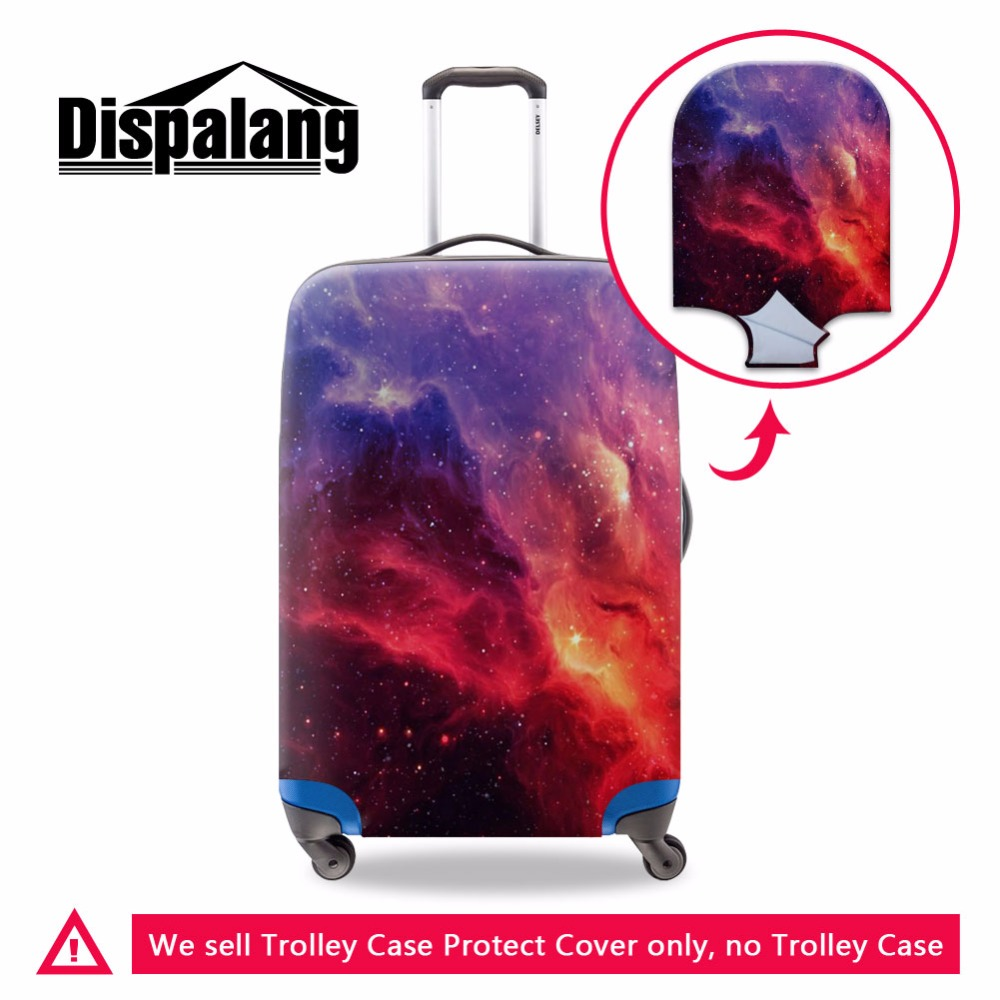 Dispalang elastic stretch starry night sky protective cover for suitcase anti dust trunk case cover dustproof