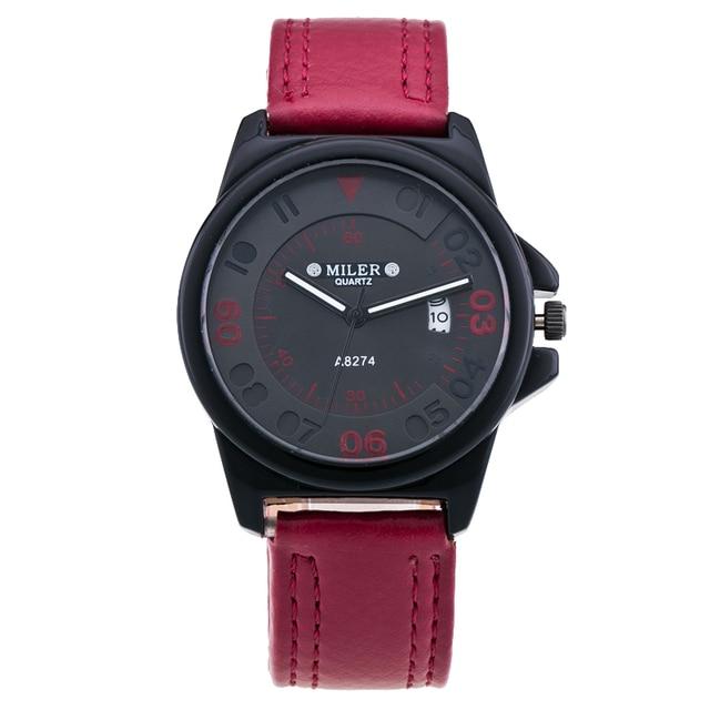Zegarek Miler military style różne kolory