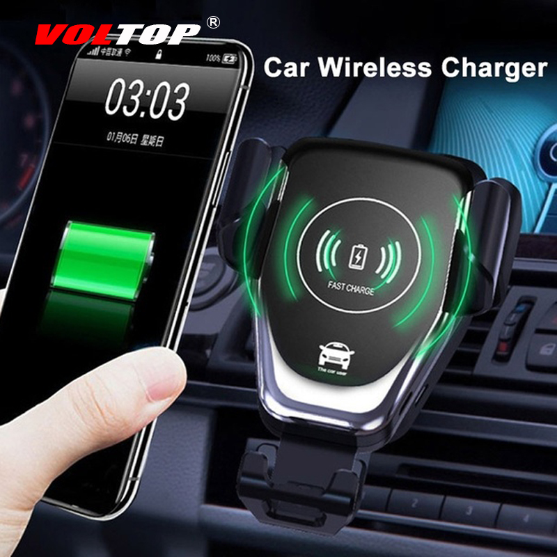 Wireless Charger Phone Holder Car Accessories Ornaments Pendant Hanging Mount Air Outlet Cellphone HUAWEI Iphone Samsung