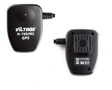 Viltrox Camera GPS Receiver Geotag GP-1 w/ Shutter Release Cable for Nikon D810 D800 D700 D300 D300S D3 D2 D1 DSLR